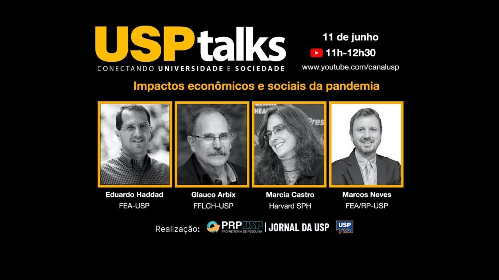 USPTalks: Impactos econômicos e sociais na pandemia