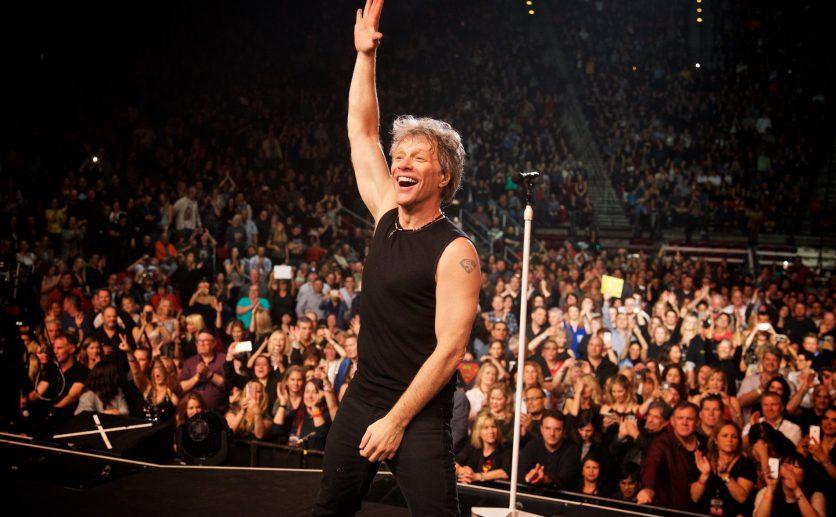 Bon Jovi fará live com clássicos da carreira e degustação de vinho
