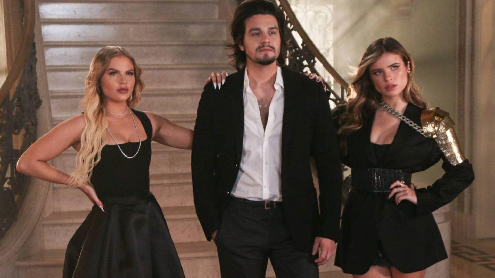 Luan Santana, Luísa Sonza e Giulia Be